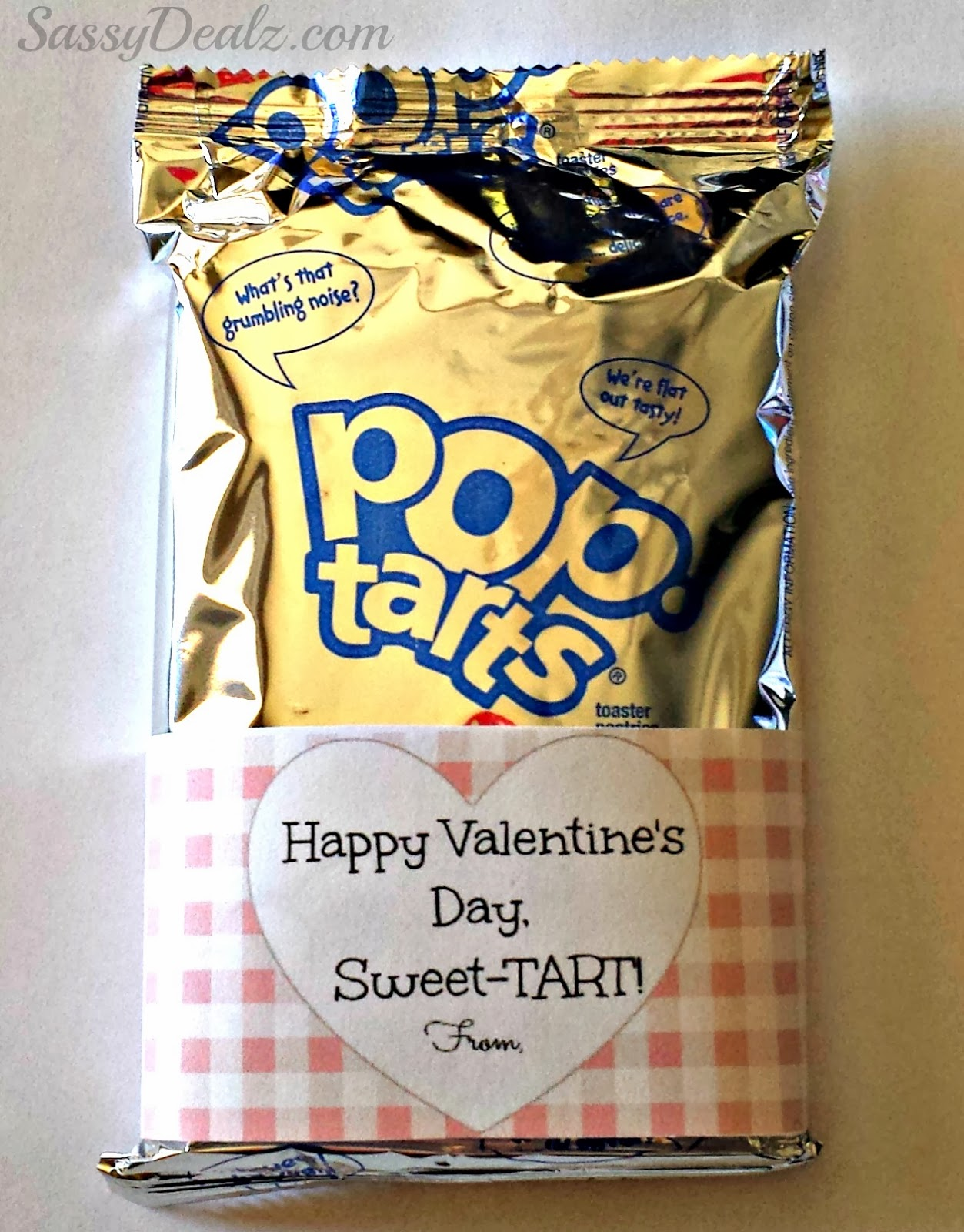 pop-tarts valentines day gift idea