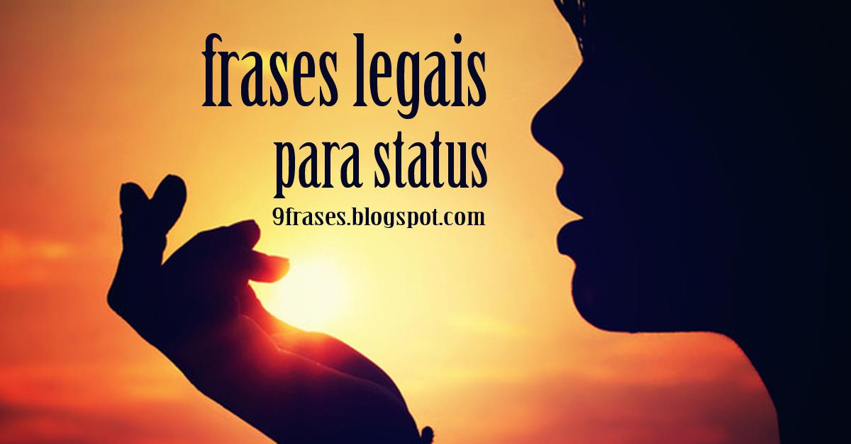 Frases Legais Para Status Do Facebook