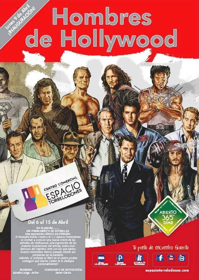 Noticias exposici n y firma de libros hombres de hollywood en el centro comercial de - La casa del libro torrelodones ...