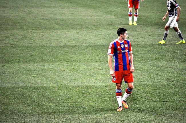 Robert Lewandowski jest już międzynarodową gwiazdą piłki nożnej - fot. Radiohead022