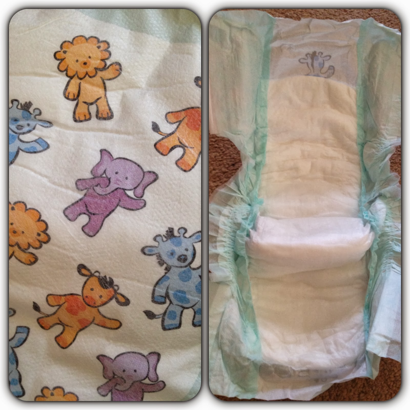 Aldi Mamia Nappies design