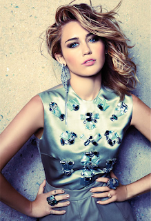 Miley Cyrus Photoshoot Marie Claire Magazi