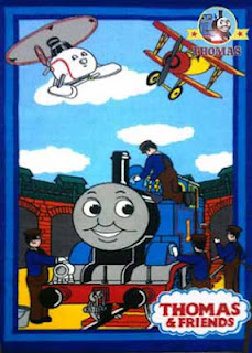 Official merchandise Thomas the train bedroom rug kid carpet play mat nursery furniture for toddlers