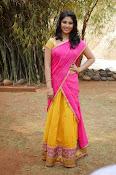 kruthika jayakumar half saree stills-thumbnail-12