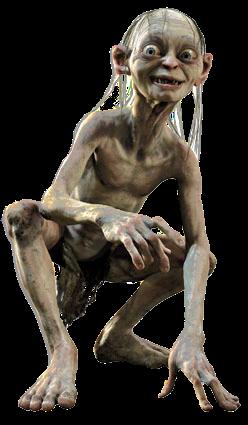 Gollum  Smeagol Smeagol Ring