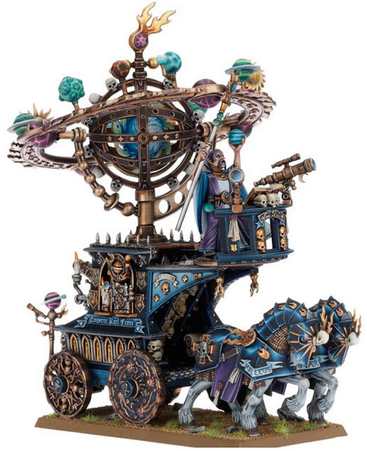 Empire Celestial Magical War Machine from Games Workshop