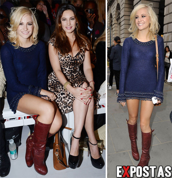 Pixie Lott: Mark Fast fashion show durante a London fashion week - 17 de Setembro de 2012