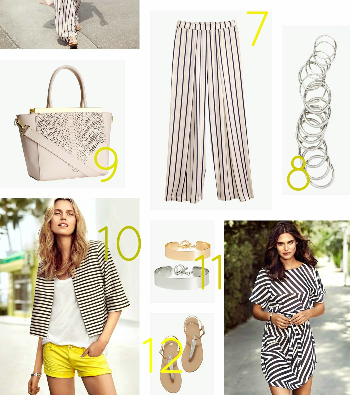 Shop This Weekend - Striped Dress, Wide Legged Pants, Boxy Jacket and More