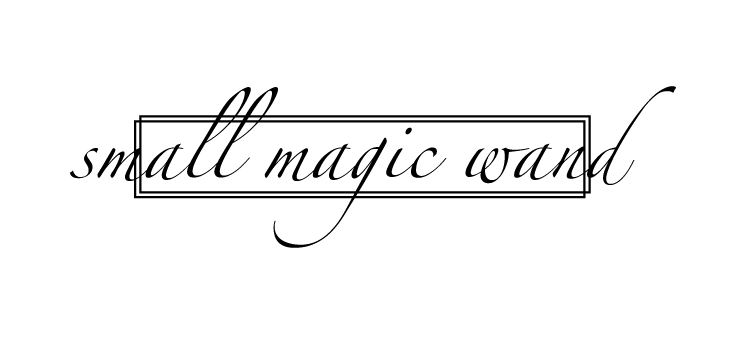 small magic wand