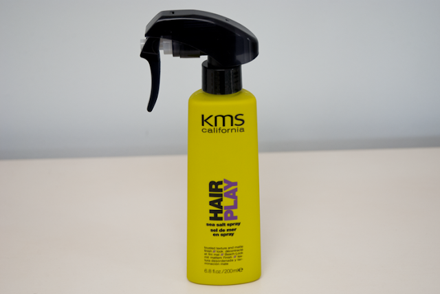 kms california sea salt spray hair review