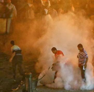 Pendukung Moursi dan Pendukung Militer Mesir Bentrok Lagi