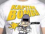 koszulka Kapitan Bomba - Tępy huj