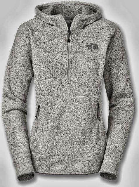 Fall Adorable Comfy Grey North Face Hoodie