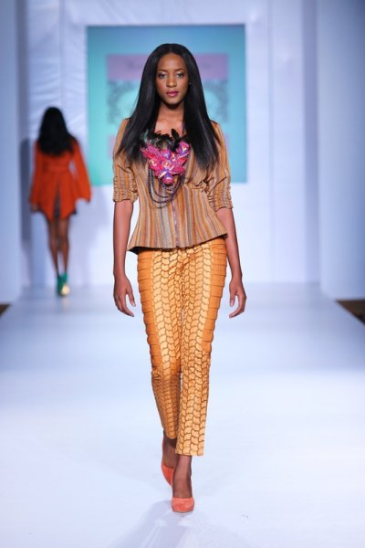 MTN Lagos Fashion and design week 2012: House of Marie