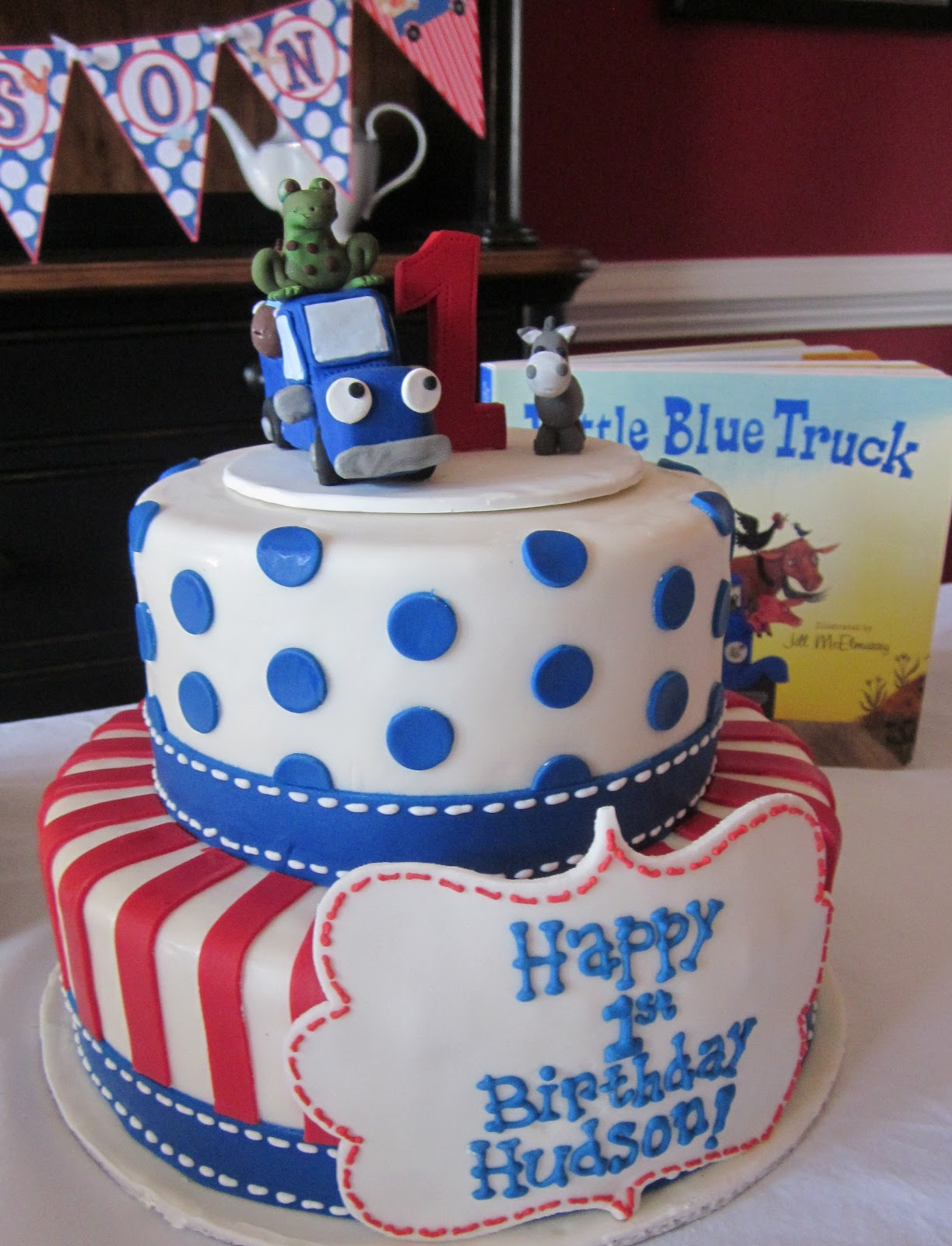 ... for his birthday here are some pics from sweet hudson s birthday bash