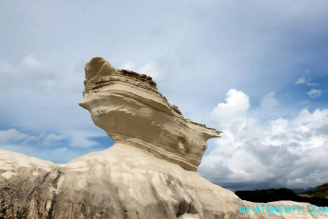white lime stone formation ilocos