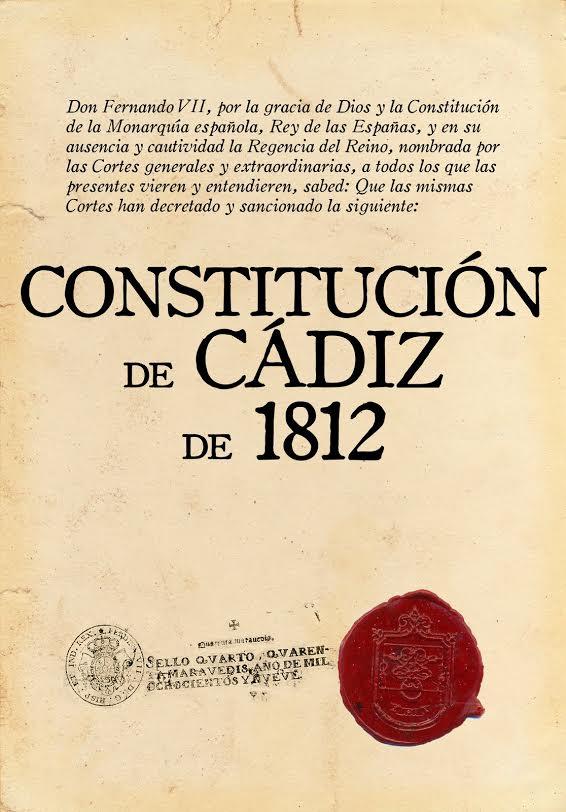CONSTITUCIONES EN ESPAÑA EN LOS SIGLOS XIX  Y XX