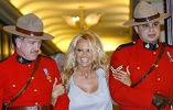 Pamela Anderson & the RCMP.