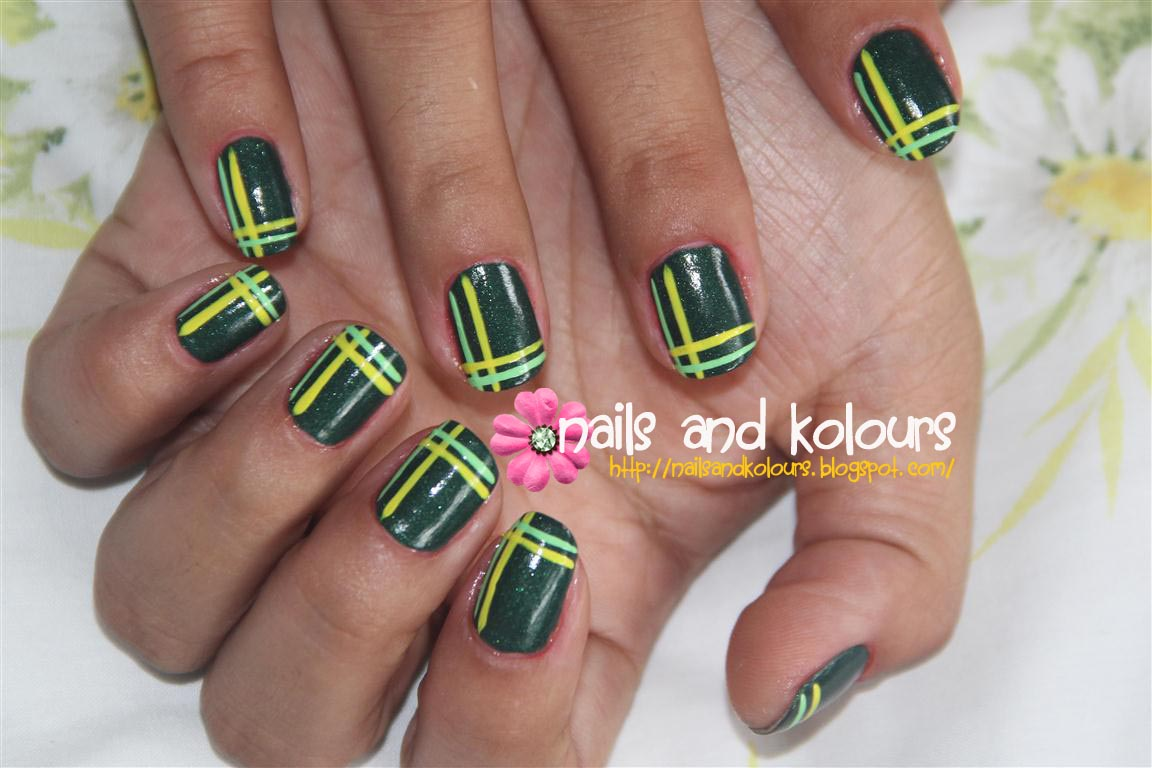 One Line Nail Art : Stunning nail art line designs ledufa