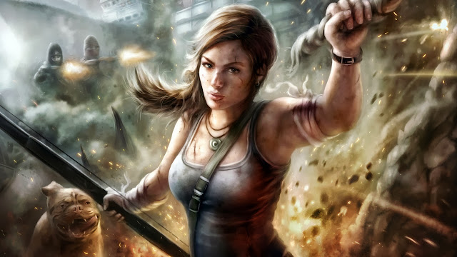 lady lara croft wallpapers hd