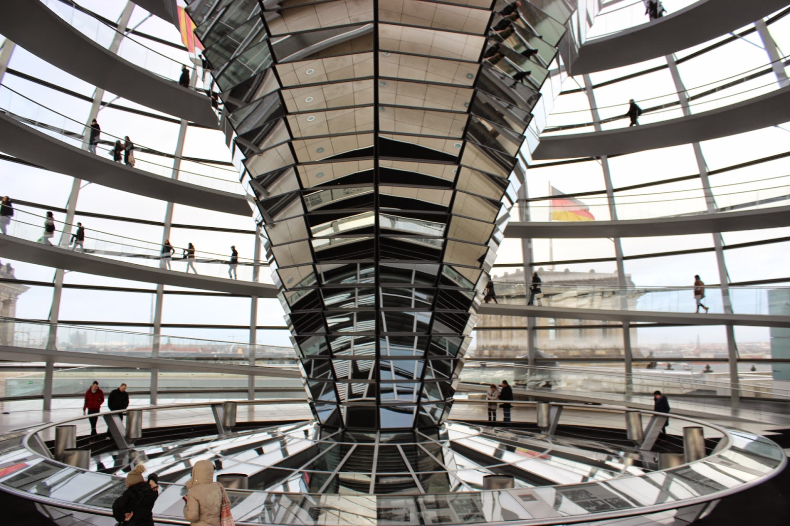 Berlin Reichstag Building Dome