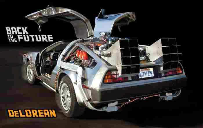 Back to the Future - Delorean Time Machine