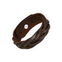 Mens Leather Bracelet Tropicari6
