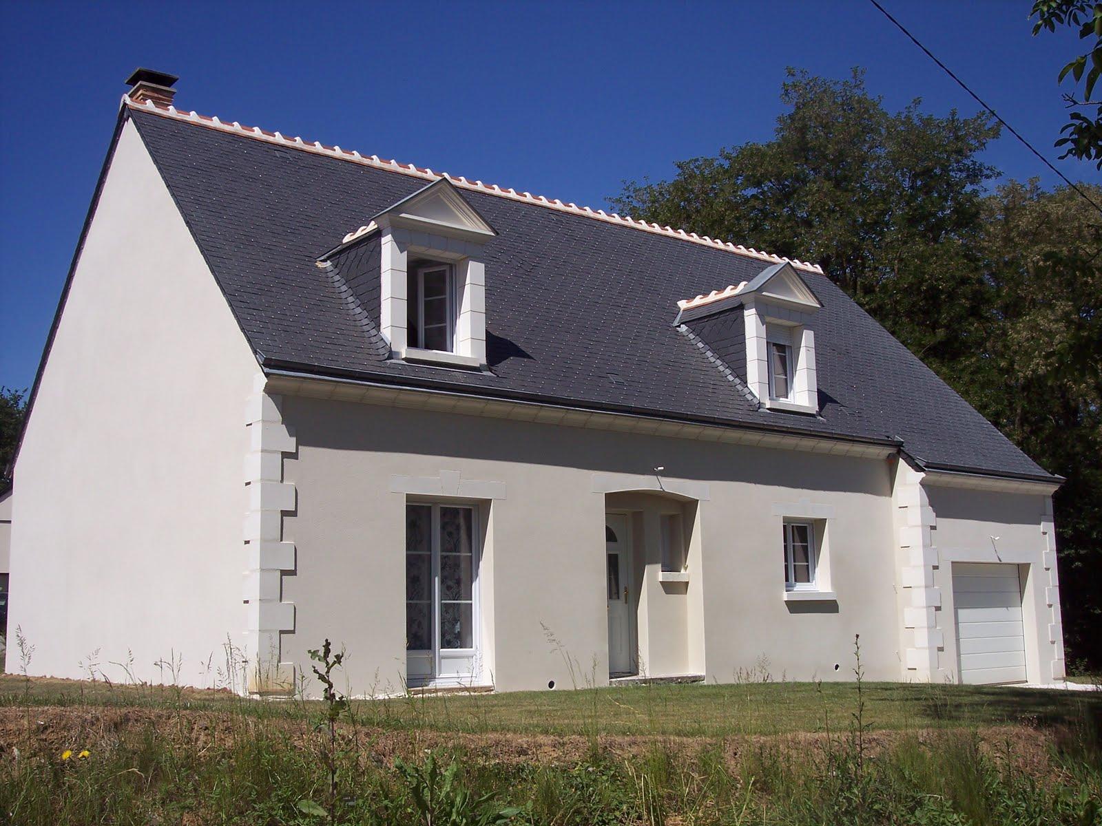 Notre maison en autoconstruction enduit ext rieur for Autoconstruction maison