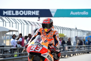 Marquez Tercepat Sesi Pemanasan MotoGP Australia 2015