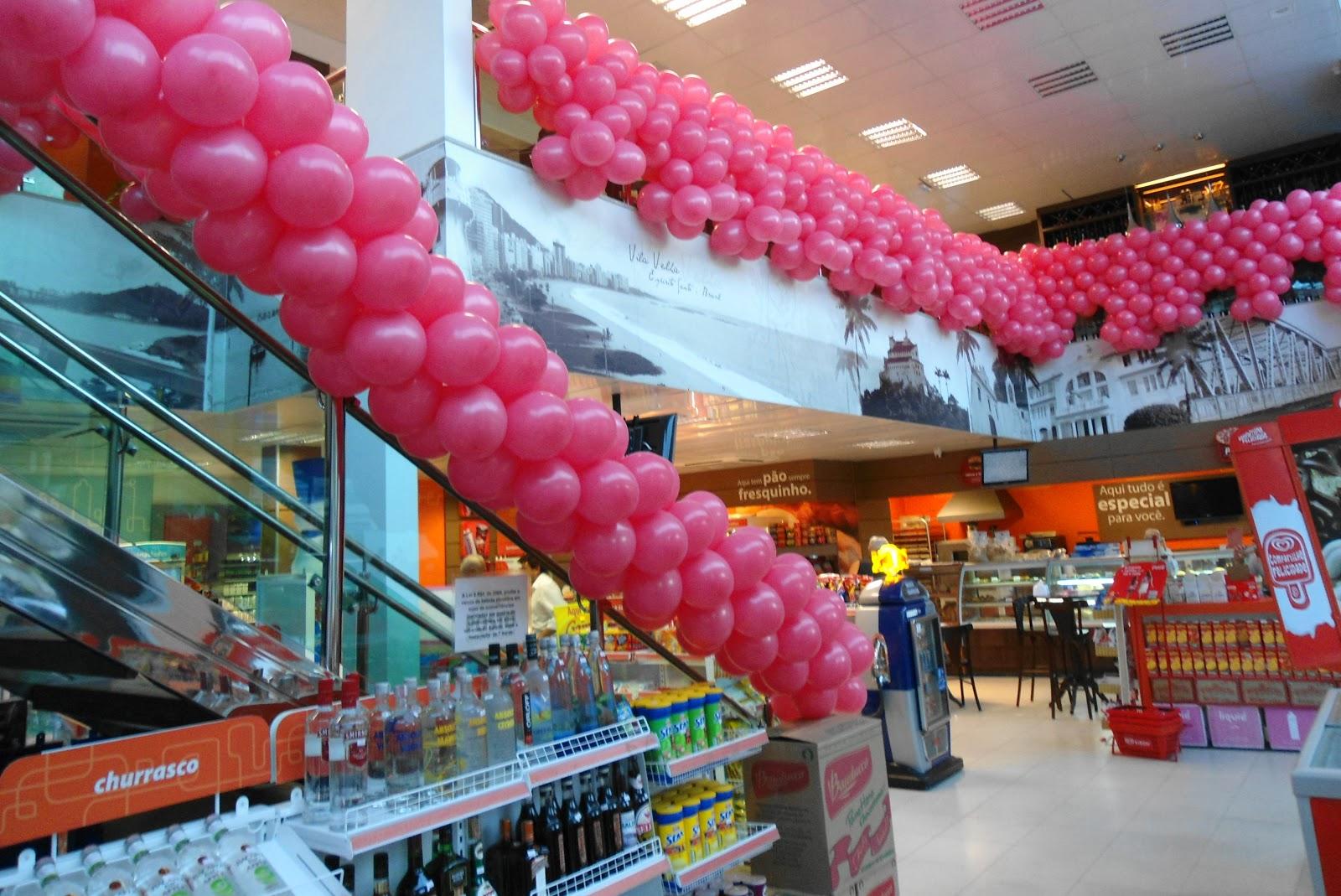 LA FIESTA BAL u00d5ES OUTUBRO ROSA -> Decoração Outubro Rosa Simples