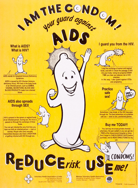 25 Years of Aids Awareness | Posters 1985–2010 | Graphic Art News