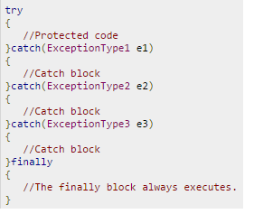 how to write an exception class