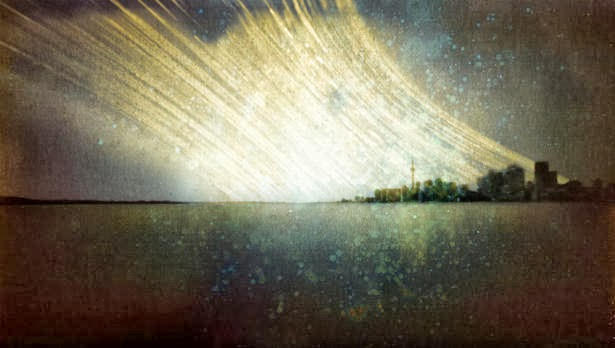 Michael Chrisman pin hole camera: Toronto, 2011.