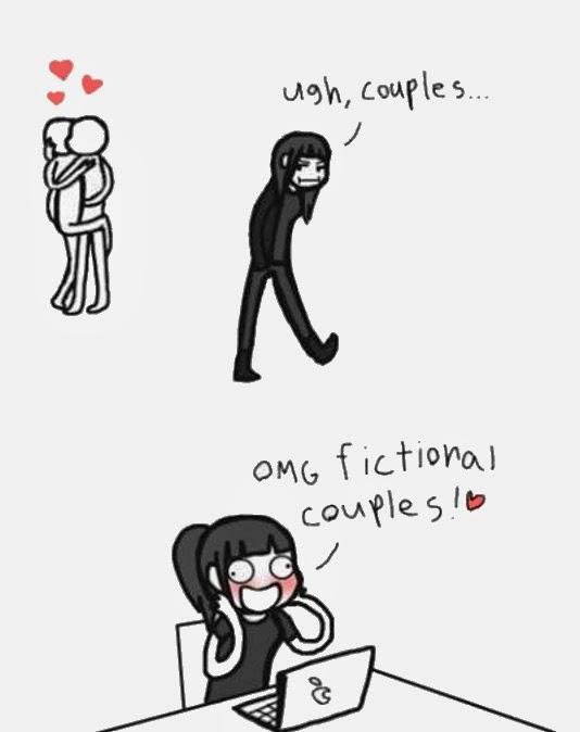 FICTIONAL COUPLES