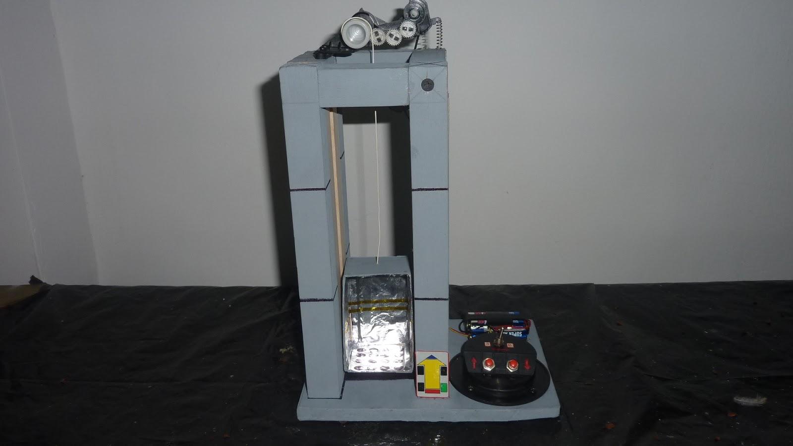 Ascensor didactico ascensor did ctico casero for Materiales para hacer un ascensor