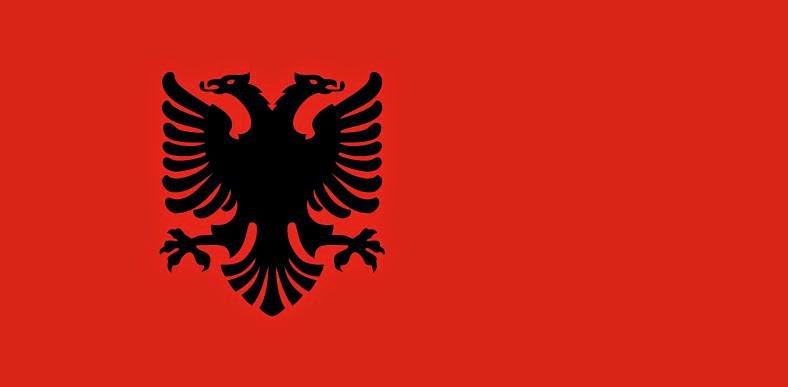Flag of Albania (1943-1944)