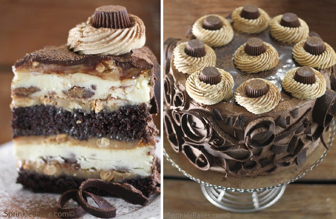 The Ultimate Chocolate Layered Reeses Peanut Butter Cup ...