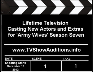 Army Wives Season 7 Auditions Extras Casting