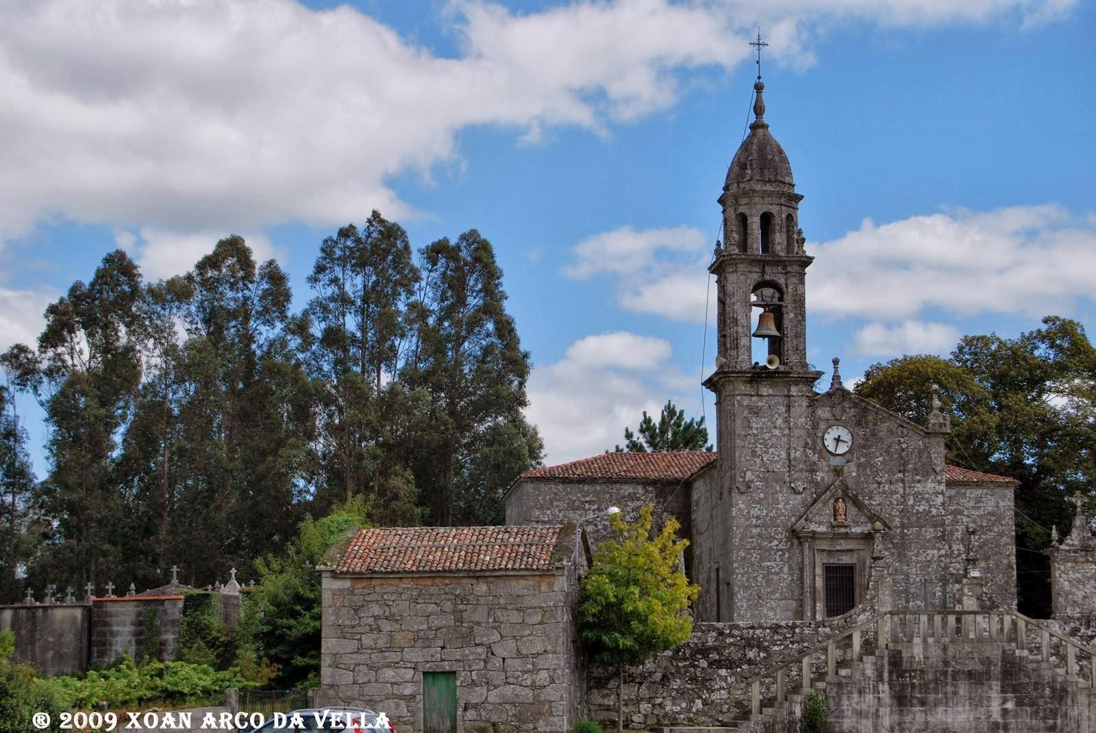 Xoan Arco Da Vella Iglesia De San Miguel Campo Lameiro