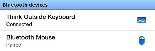 I Found This Useful: Samsung Galaxy Tab - pairing Bluetooth Keyboard