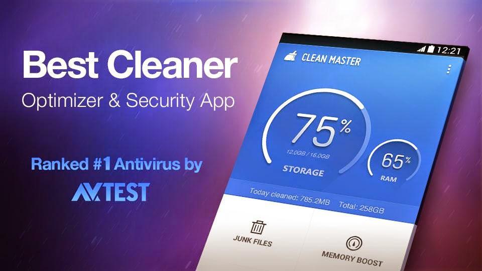 Clean Master – Free Optimizer
