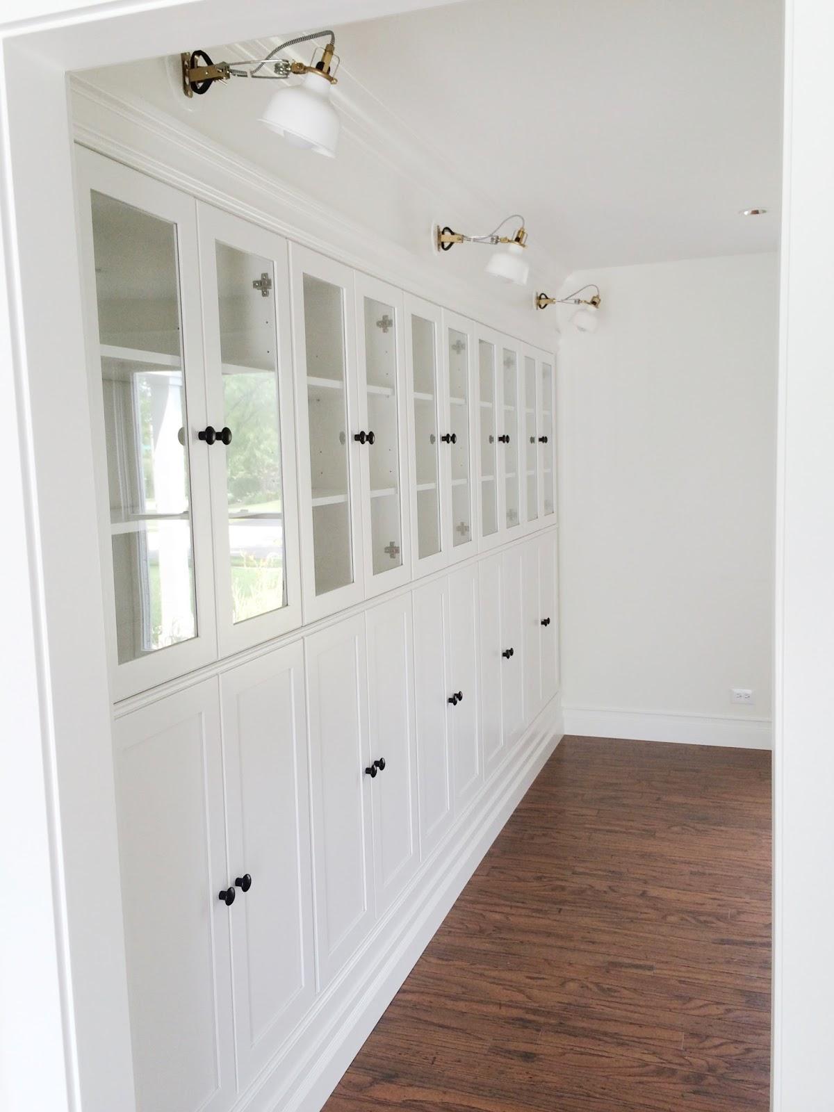 Avery Street Design Blog: DIY Summer School // IKEA Hack Built In Bookcases