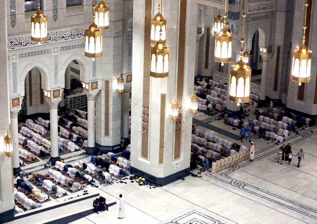 Dekorasi Interior Masjidil Haram