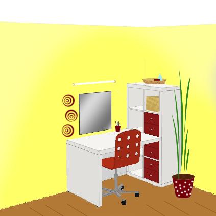 interior und garten inspirationen f r deinen schminktisch laptoptisch. Black Bedroom Furniture Sets. Home Design Ideas