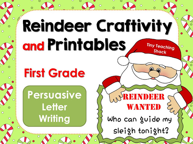 https://www.teacherspayteachers.com/Product/Reindeer-Writing-Craftivity-and-Printables-Persuasive-Letter-1008377