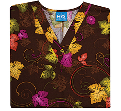 printed scrub tops for doctors