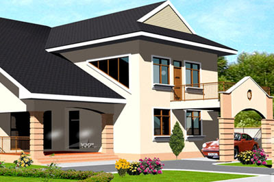 Ghana high interest rates curbing mortgage growth ghana for Ghana house plans for sale