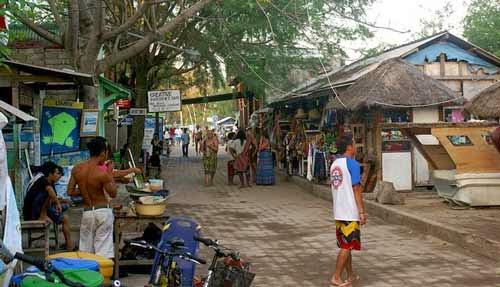 Suasana sekitar Hotel Gili Trawangan Lombok