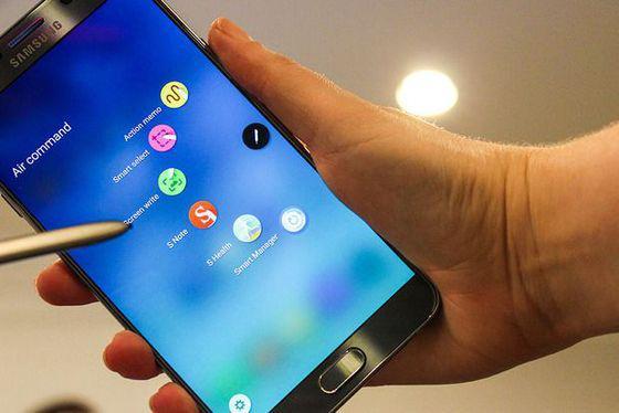 O Menu Air Command do Galaxy Note 5 te permite adicionar dois dos seus próprios atalhos para aplicativos