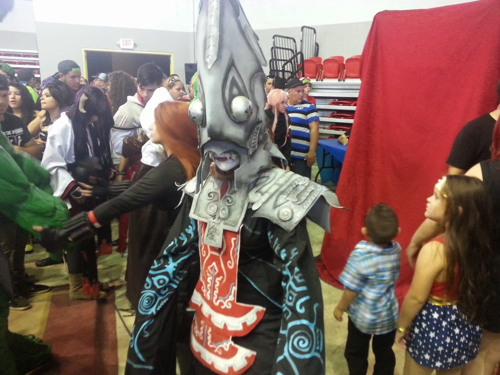 Cosplay Zant Mask